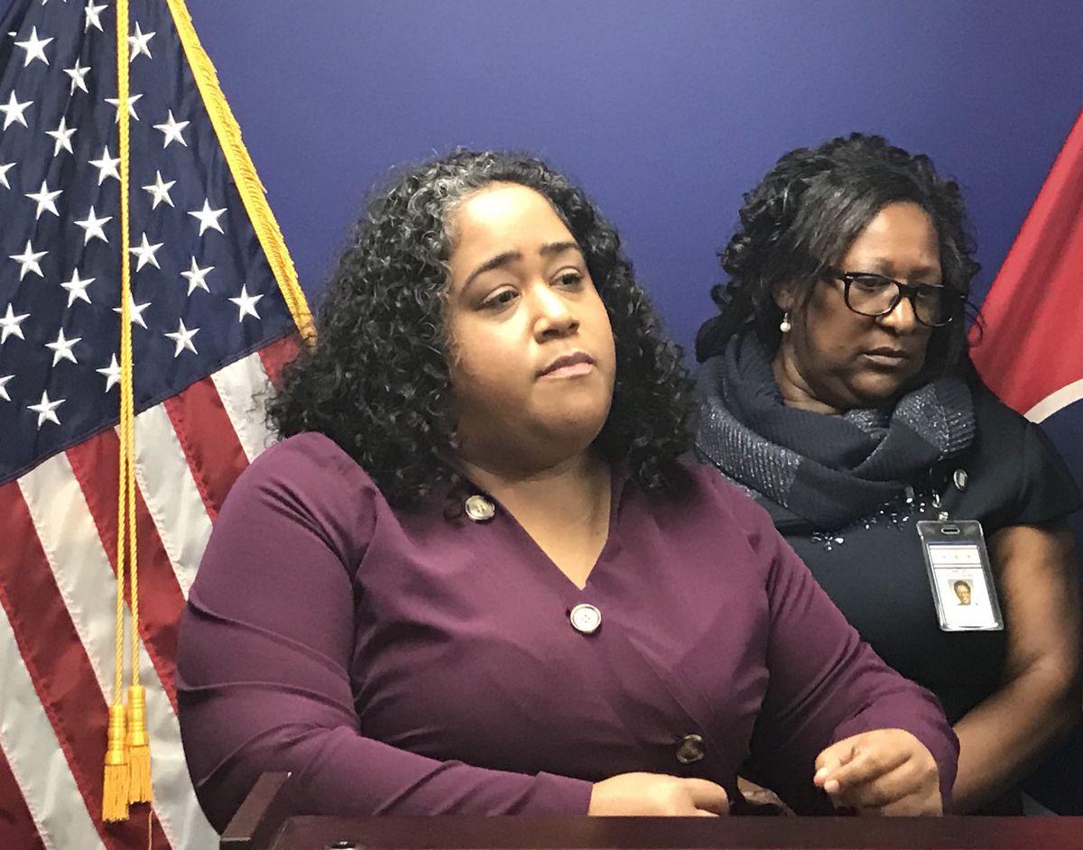 Sen. Raumesh Akbari and Rep. Karen Camper are Democrats from Memphis.