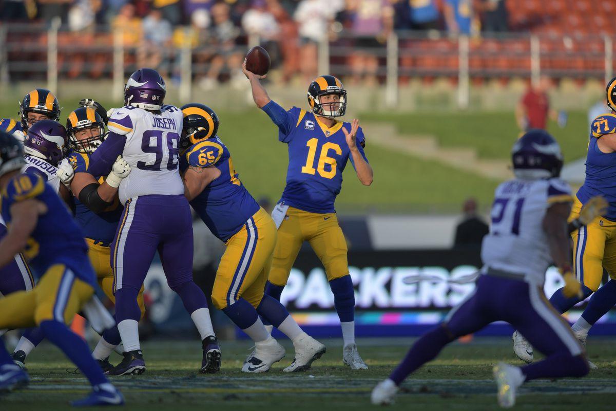 NFL: Minnesota Vikings at Los Angeles Rams