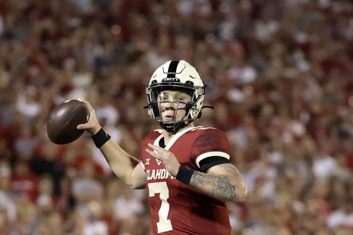 Last week, OU fans were chanting the name of Spencer Rattler's backup.
