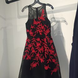 Tea length dress, $125