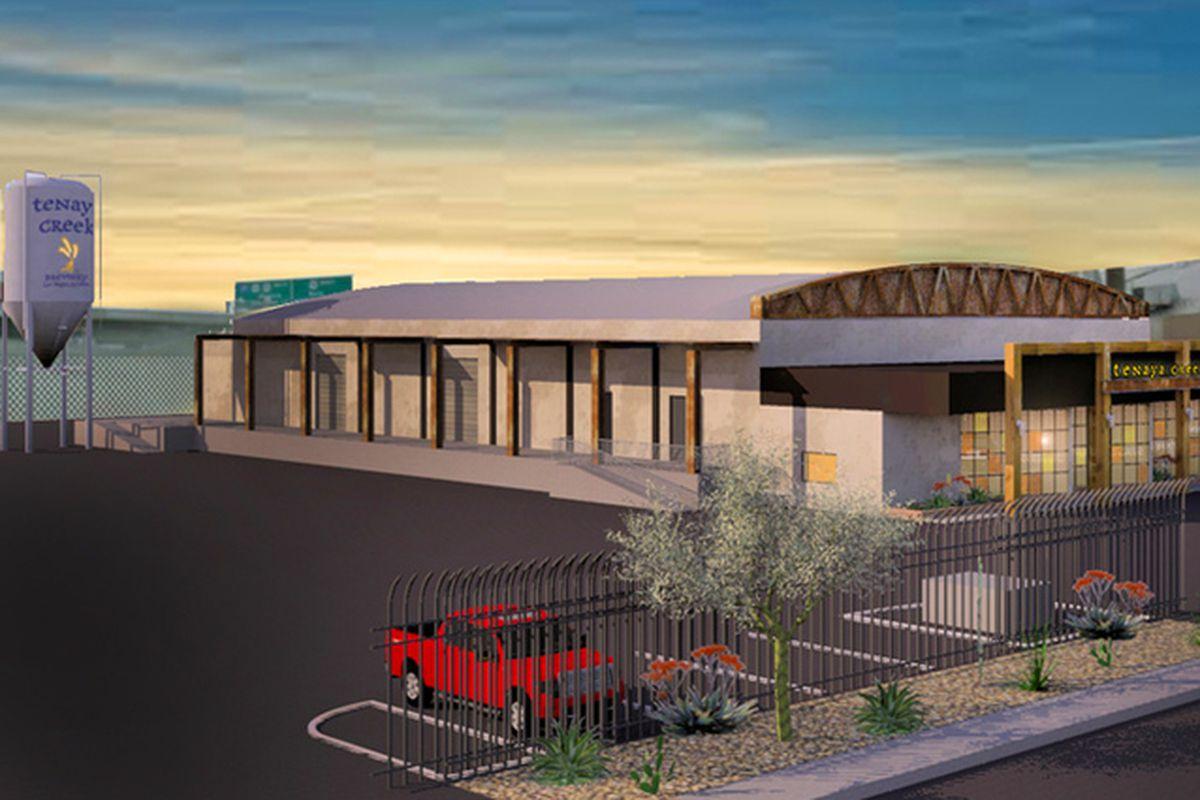 Tenaya Creek Brewery rendering
