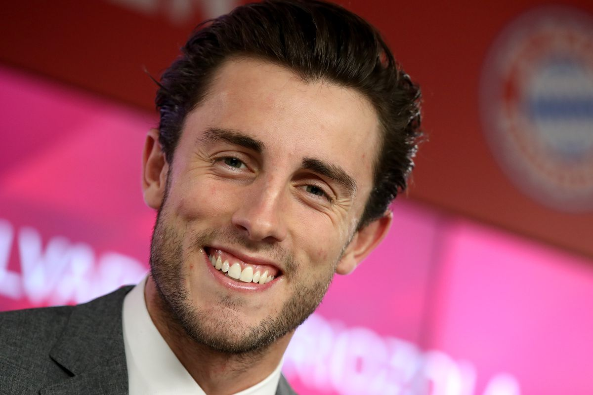 FC Bayern Muenchen Unveils Newly Signed Player Alvaro Odriozola