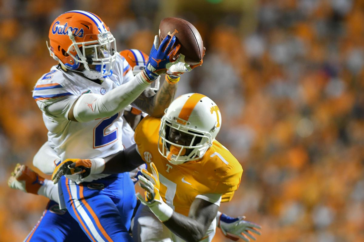 ad4d03495d52 Florida Gators vs. Tennessee Volunteers Recap  Gators Rout Vols