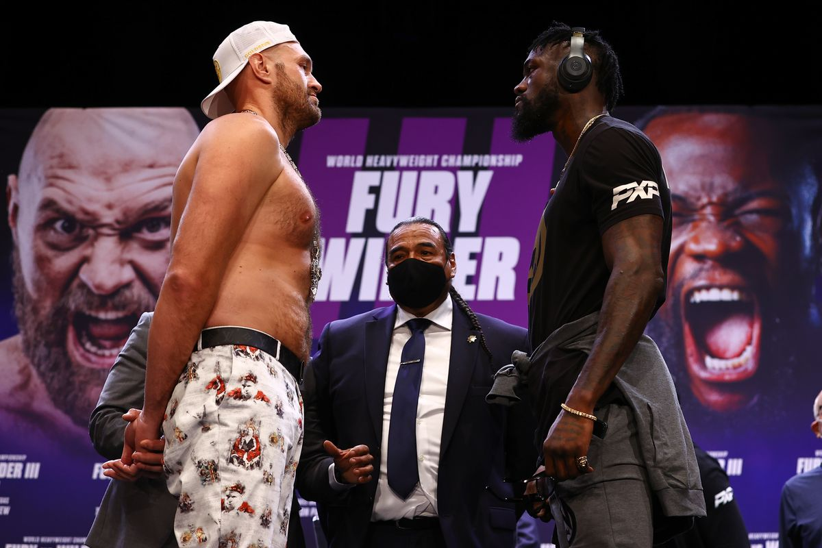 Tyson Fury and Deontay Wilder meet for the third time tonight on PPV