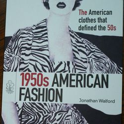 1950's American Fashion Book, orig. $9.95, now $5.97