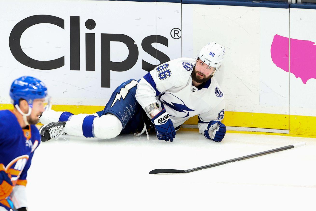 NHL: JUN 23 Stanley Cup Playoffs Semifinals - Lightning at Islanders