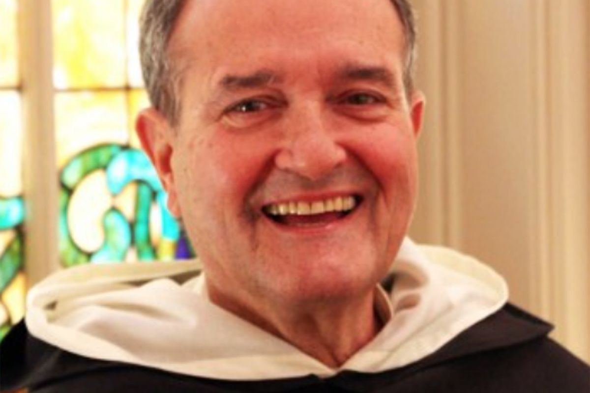 The Rev. James V. Marchionda, leader of the Dominican order for the Midwest.