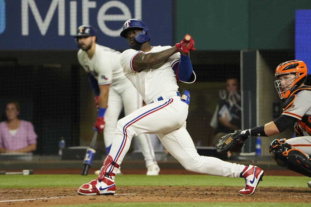 MLB: San Francisco Giants at Texas Rangers