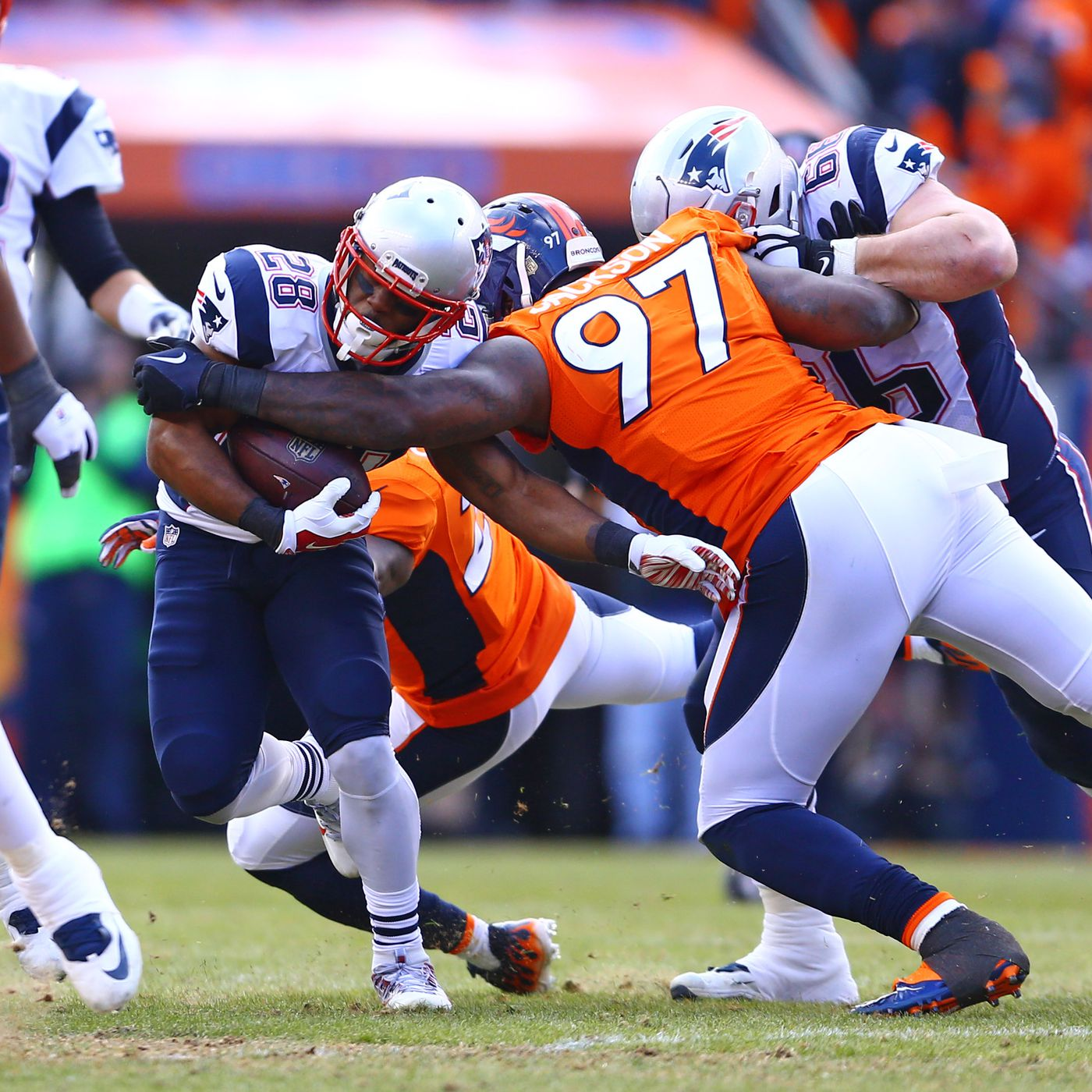 3ac1e553f What happened to the Broncos run defense and why is it terrible  - Pats  Pulpit
