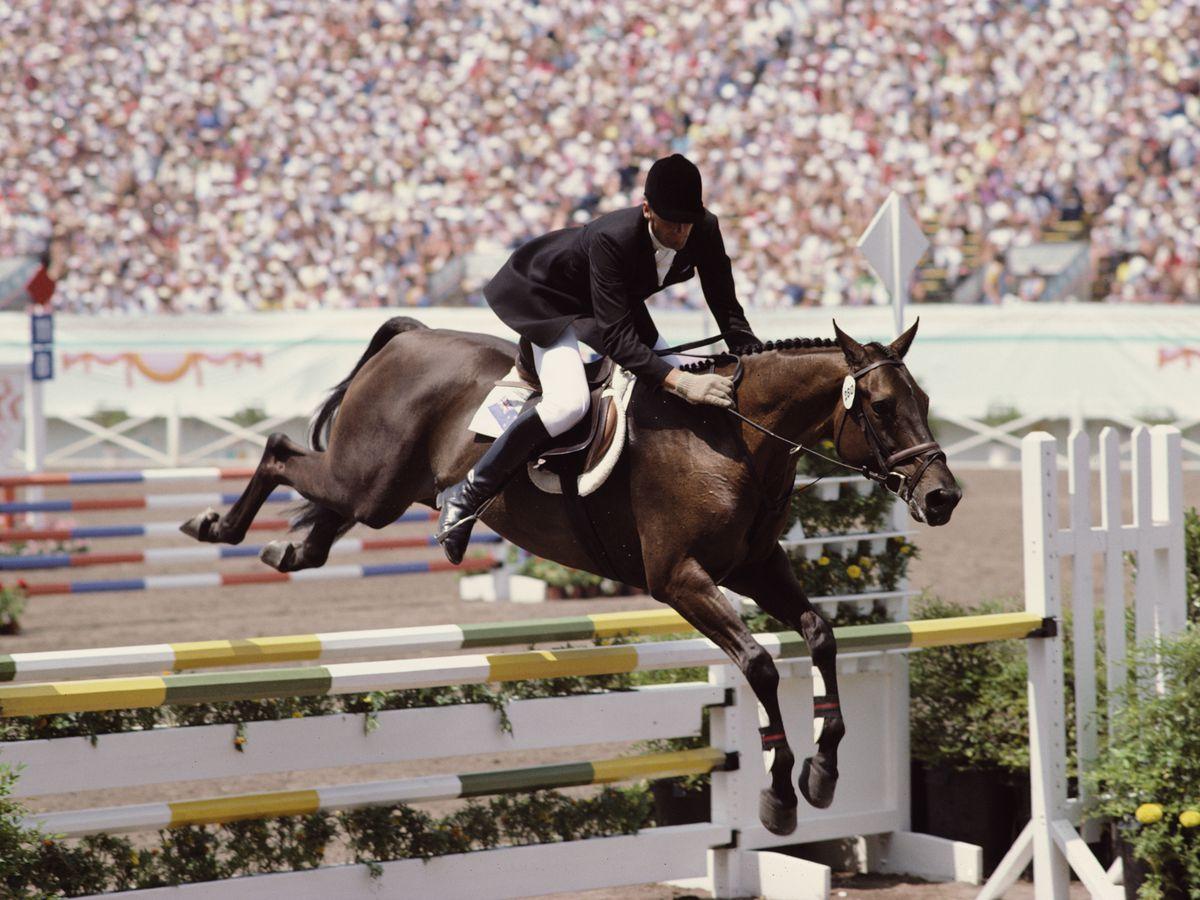 Santa Anita racetrack 1984 Olympics