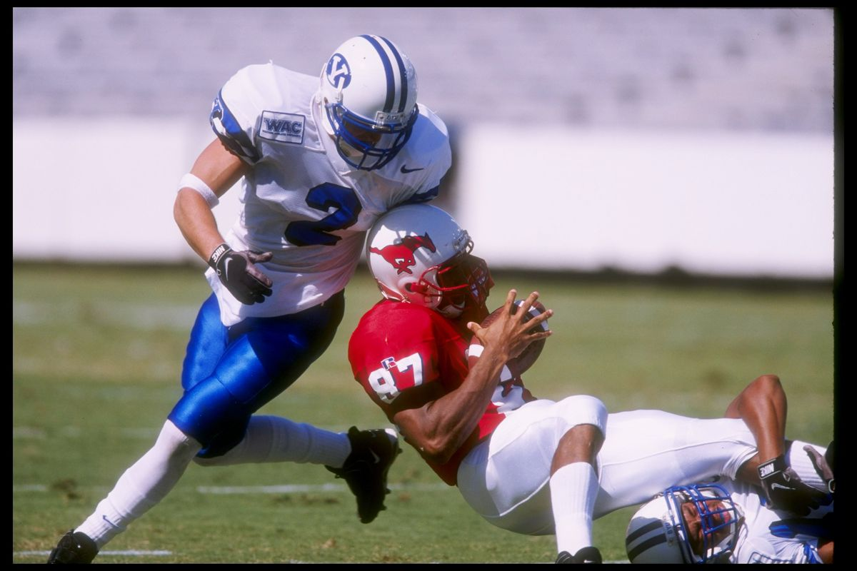 Former BYU defensive back Jason Walker is one of several current college coaches who played with Kalani Sitake at BYU.