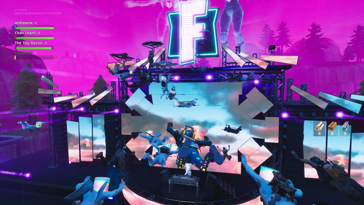 Fortnite's Marshmello concert was a bizarre and exciting
