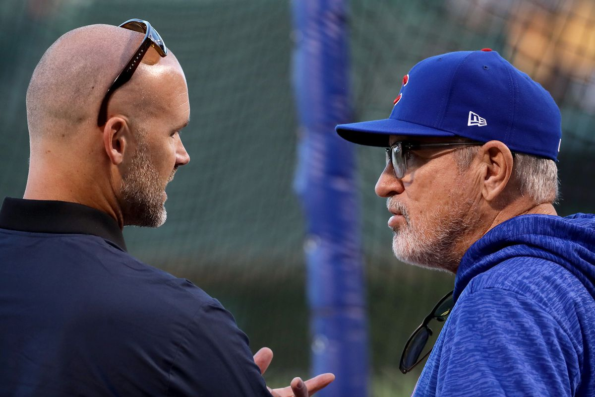 From Grandpa Rossy to manager? David Ross, Mark Loretta look like early favorites for Cubs' managerial job