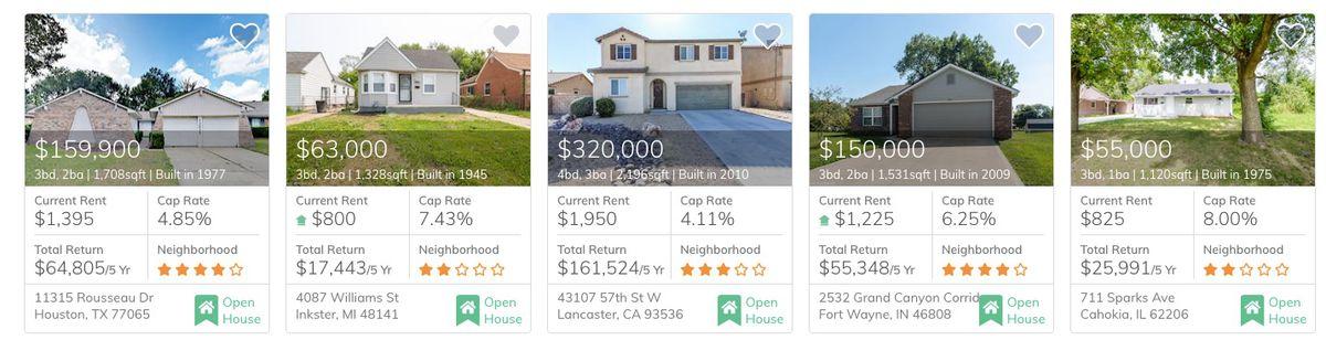 Les acheteurs de maison du millénaire évalués au prix local pour acheter des immeubles de placement en ligne
