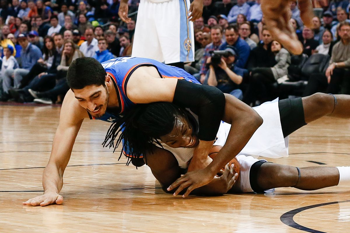 Doesn't Kanter look way too happy in this picture?