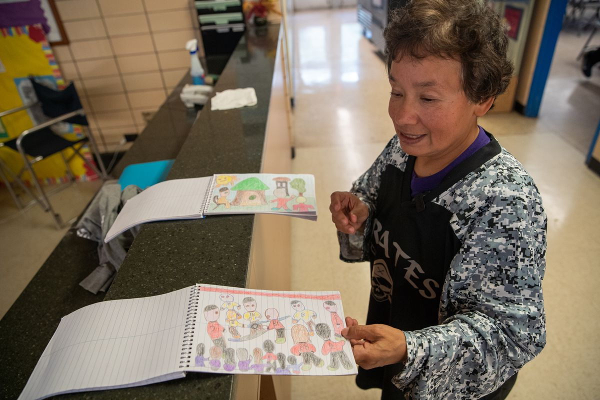 Artist, janitor and athlete Amelia Hernandez, 62, still competing, training daily in Little Village