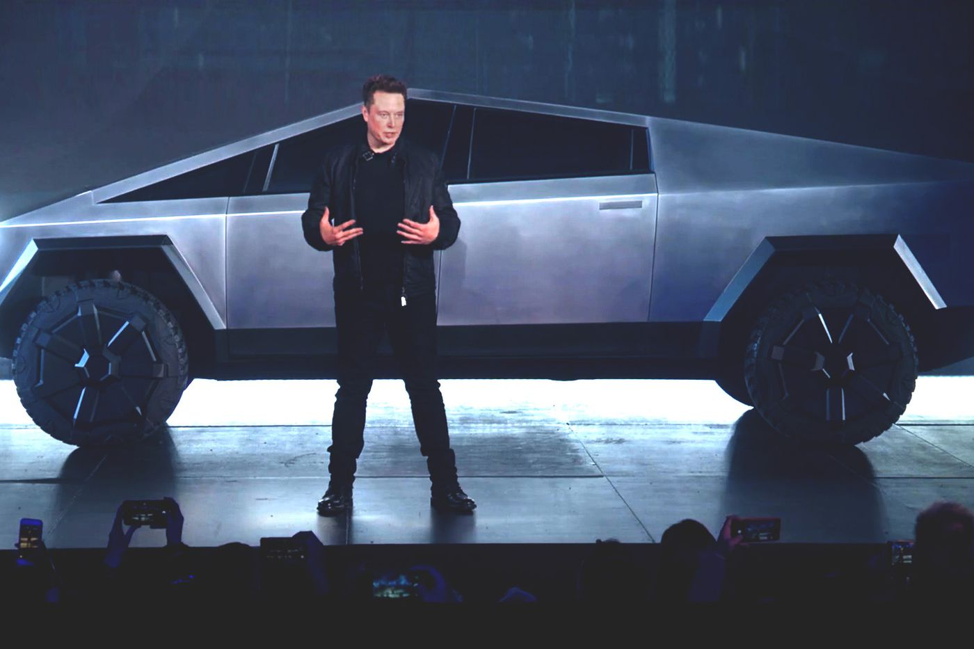 Elon Musks Cybertruck Is Here And So Are The Jokes The Verge