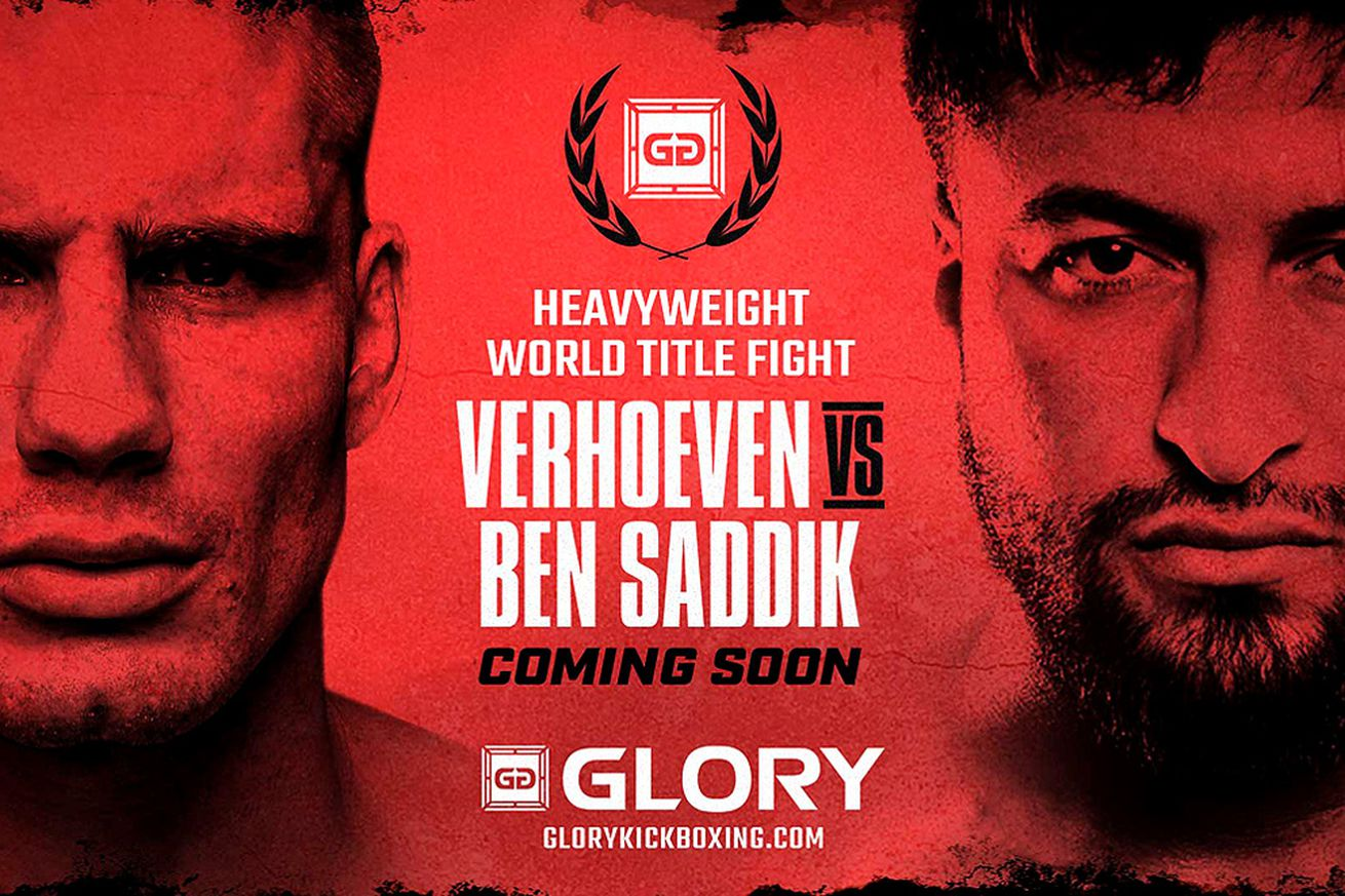 Rico Verhoeven vs Jamal Ben Saddik booked for GLORY this December in Netherlands