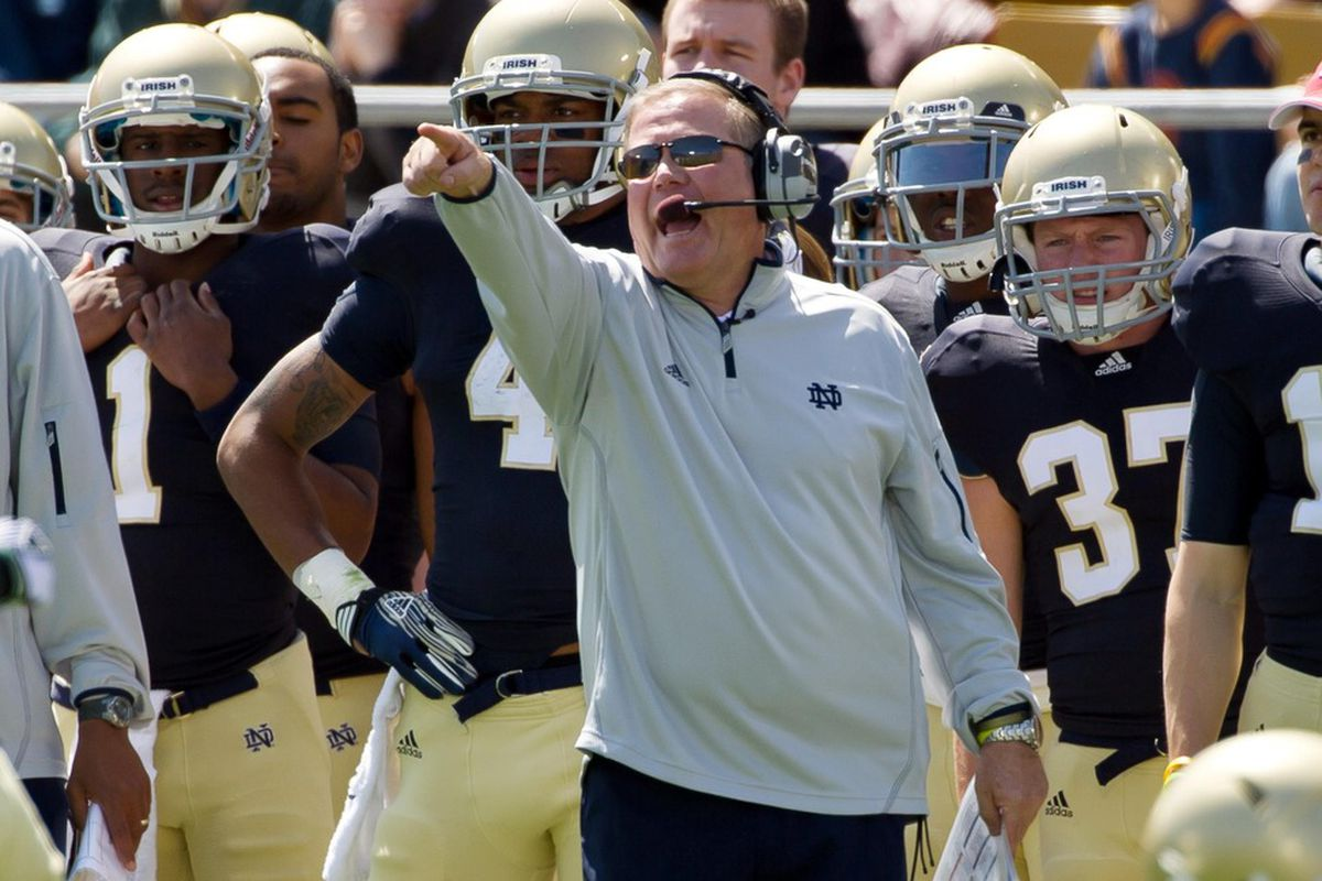 Notre Dame is in discussions with the ACC over an Orange Bowl tie-in (Mandatory Credit: Matt Cashore-US PRESSWIRE)