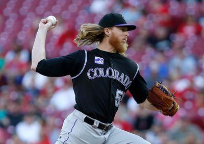 MLB: Colorado Rockies at Cincinnati Reds