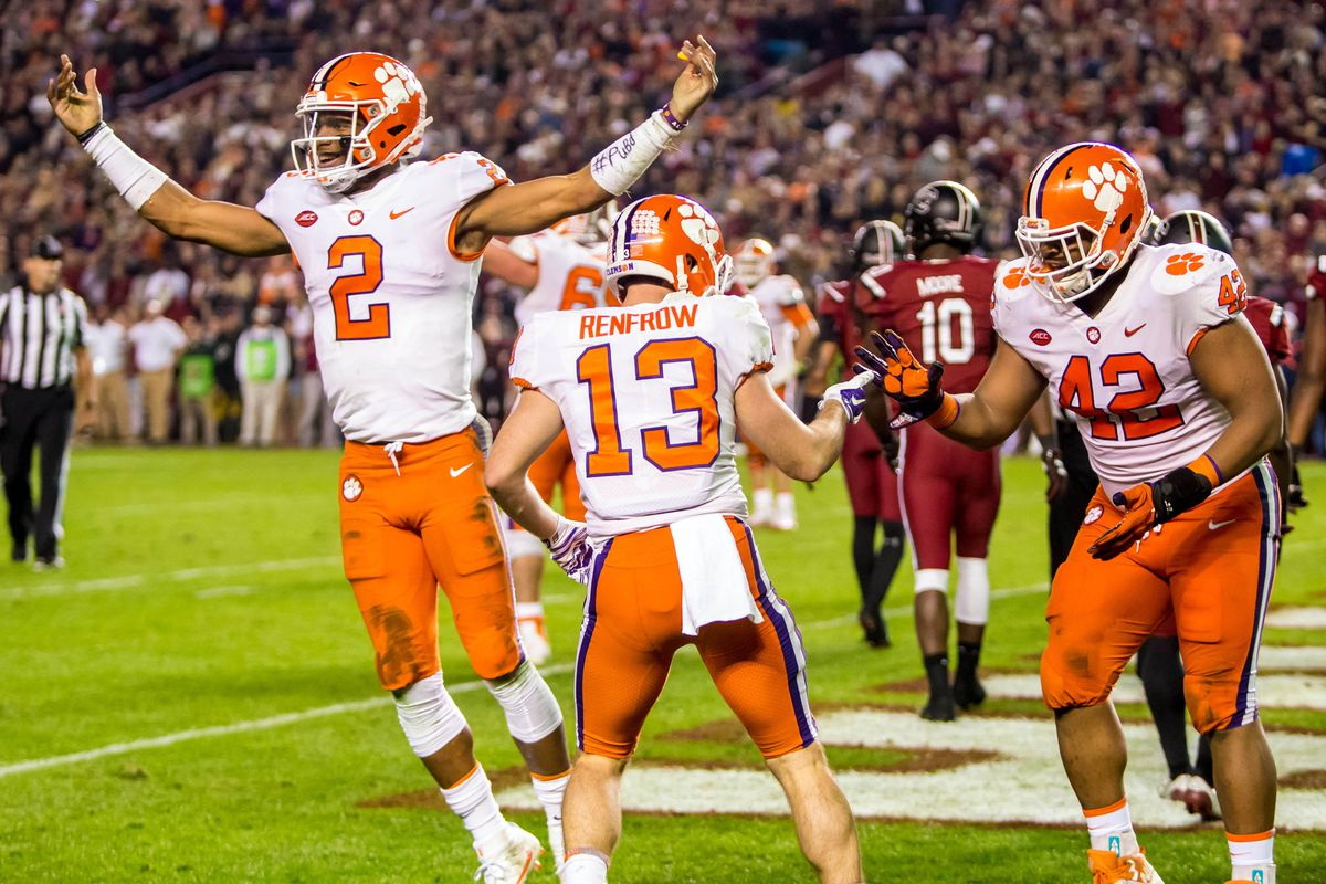Clemson vs. South Carolina Players of the Game: All Hail ...