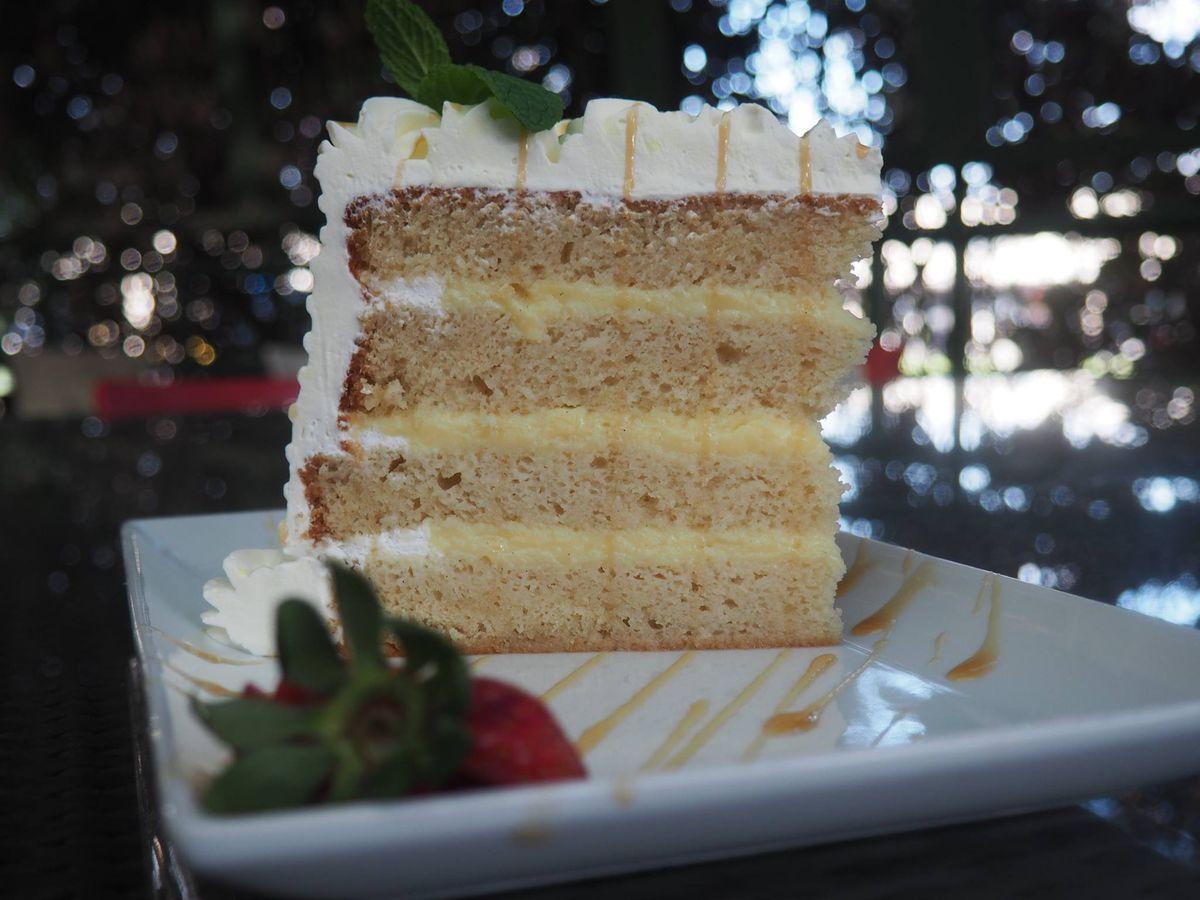 Slice of cake from Chez Zee