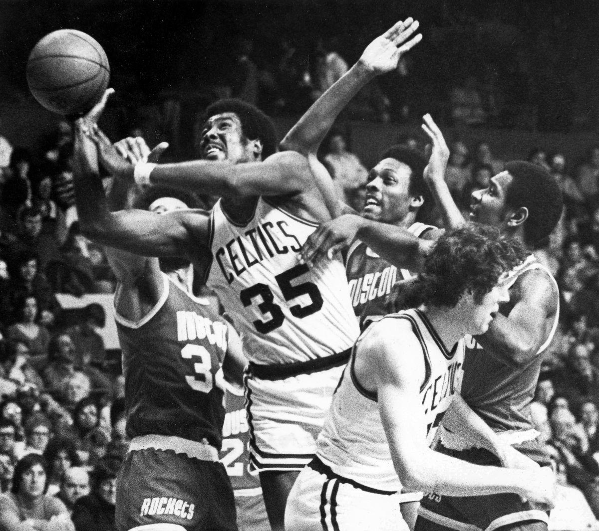 Boston Celtics Paul Silas...