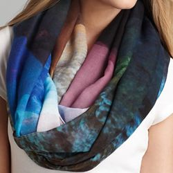 """<b>Echo</b> Mountains Loop Scarf, <a href=""""http://www1.bloomingdales.com/shop/product/echo-mountains-loop-scarf?ID=754041&CategoryID=21314&LinkType=#fn=spp%3D49%26ppp%3D96%26sp%3DNull%26rid%3DNull"""">$58</a> at Bloomingdale's"""