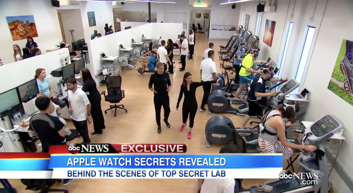 Apple Watch lab ABC