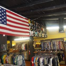 """Next, walk across the street to throwback treasure trove chainlet <a href=""""http://www.americanvintage-shop.com/"""">American Vintage</a> (14438 Ventura Blvd), a local fave that boasts a serious selection of outerwear, dresses, boots and accessories. Frequent"""