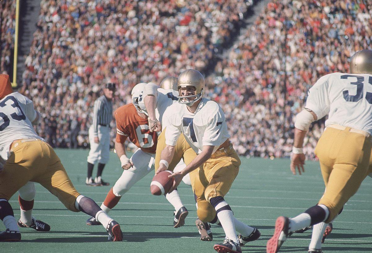Notre Dame QB Joe Theismann, Cotton Bowl