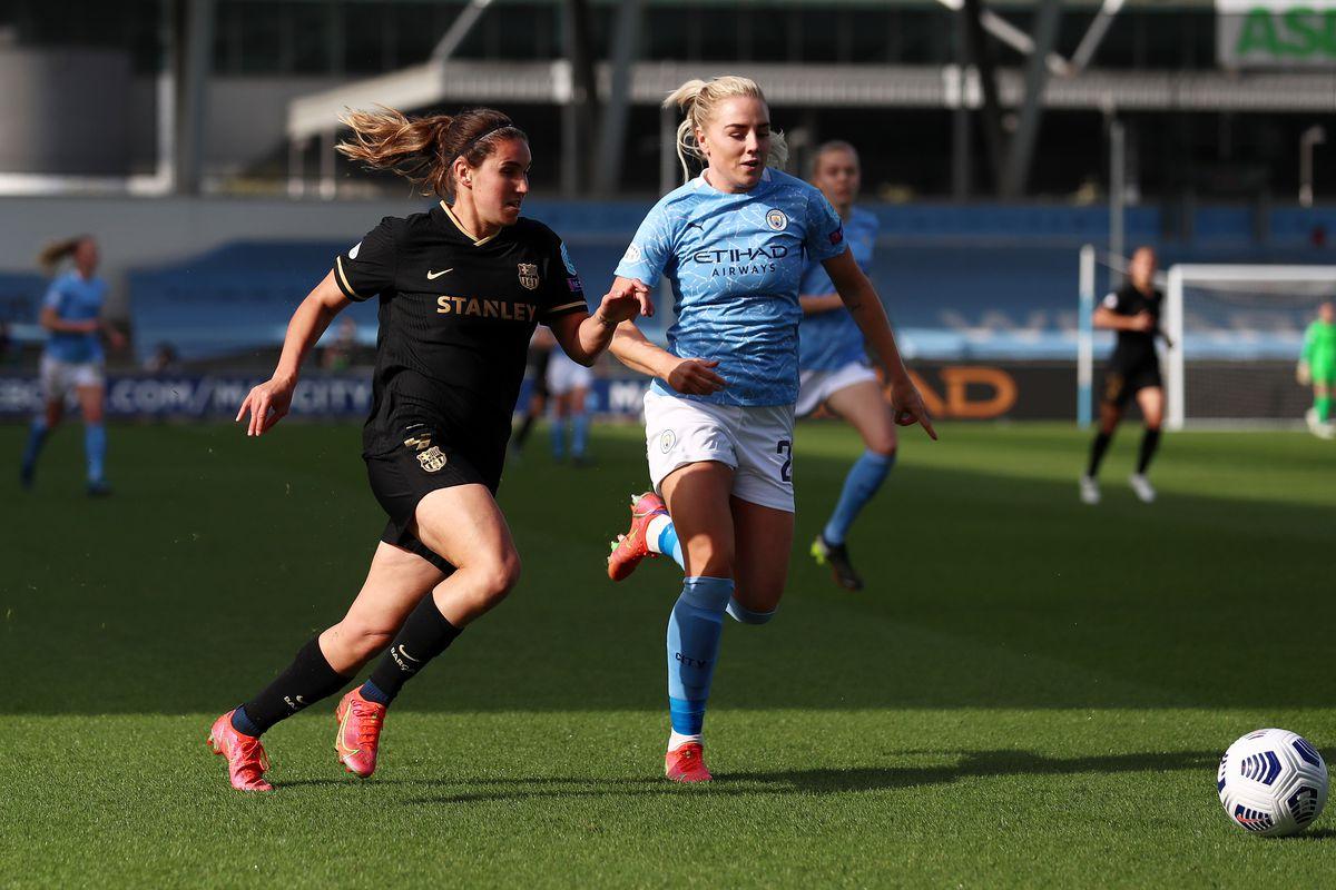 Manchester City v FC Barcelona - UEFA Women's Champions League Quarter Final: Leg Two