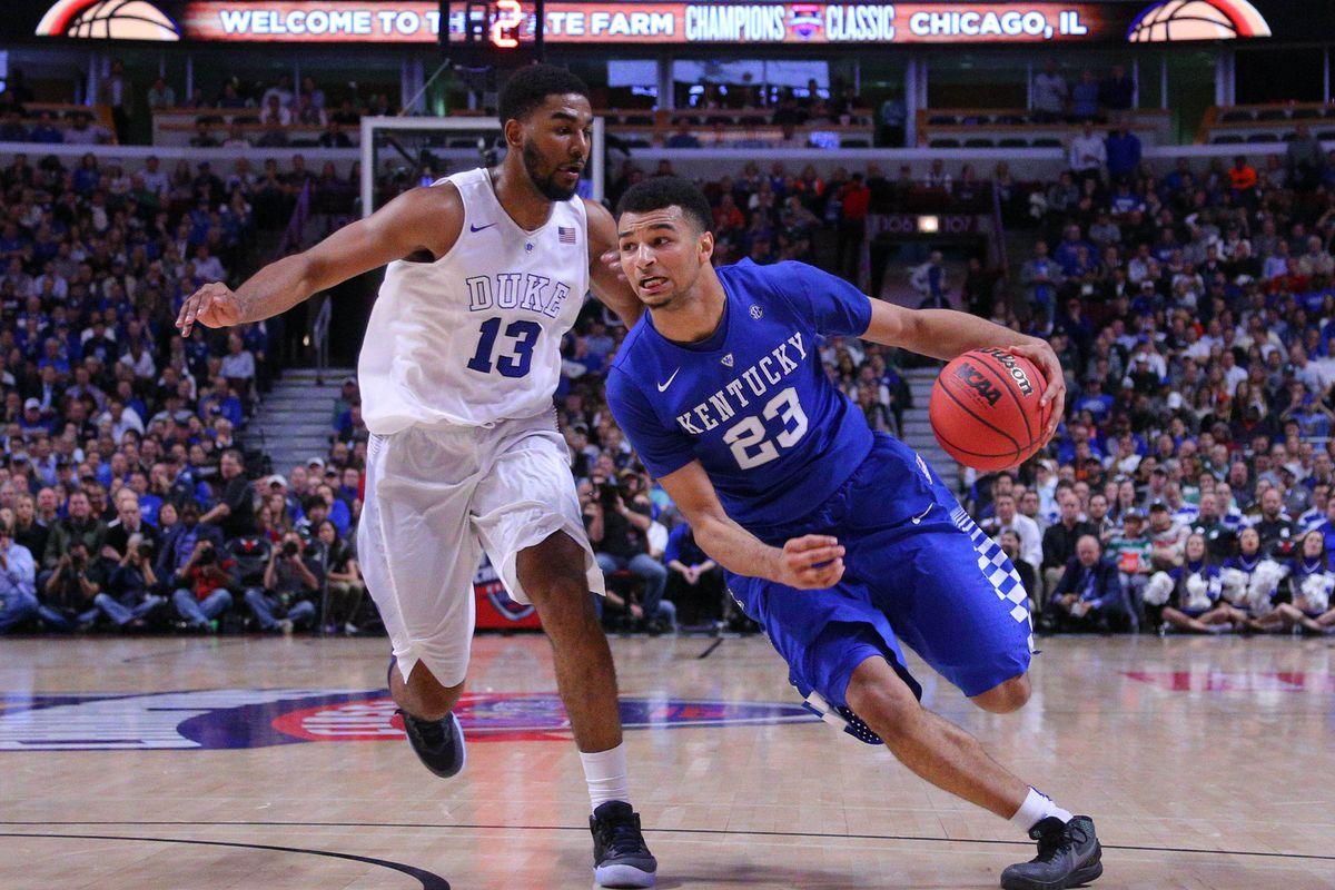 NCAA Basketball: Champions Classic-Duke vs Kentucky