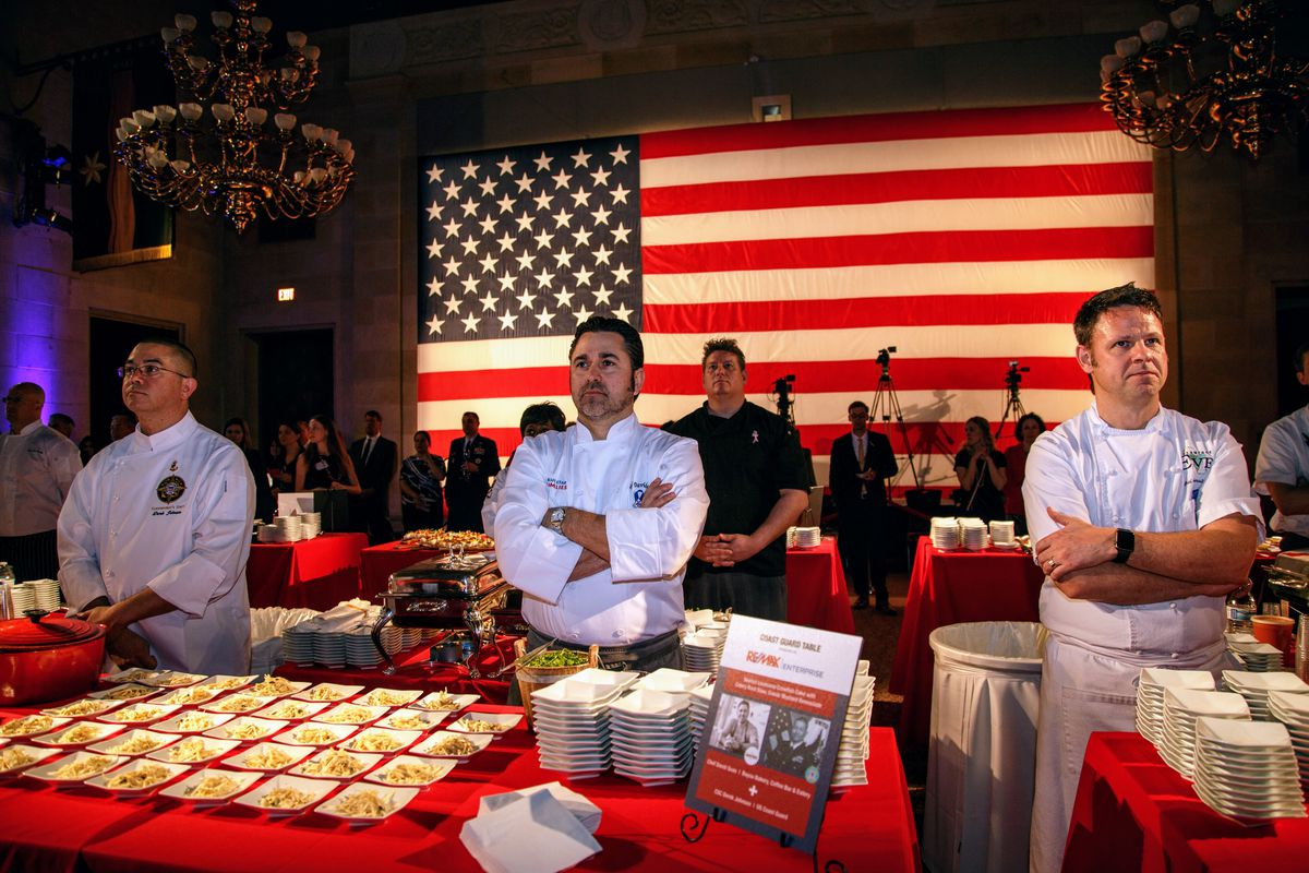 Top Chefs Unite At Us Chamber Oval Rooms New Friday Night