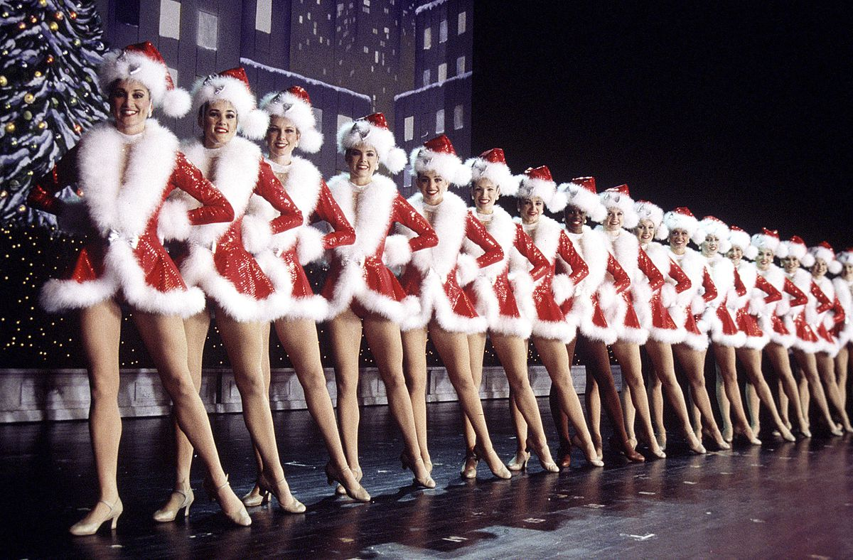 """""""The Christmas Spectacular Starring the Radio City Rockettes.""""   Courtesy MSG"""