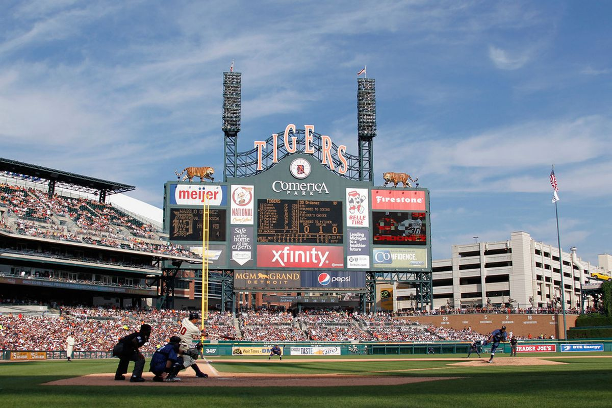 Magglio Ordonez may not have had an ideal 2011, but he'll always be a Tiger to us.