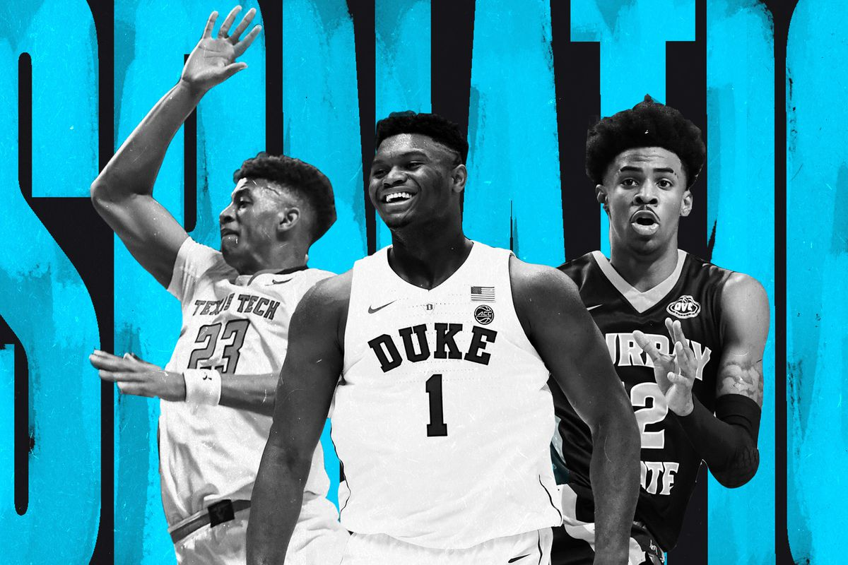 nba mock draft 2019 zion williamson is no 1 what happens after