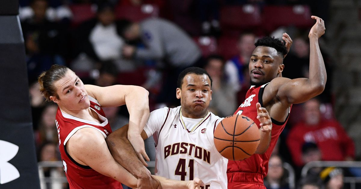 MBB Gamethread: Boston College Eagles Host NC State Wolfpack