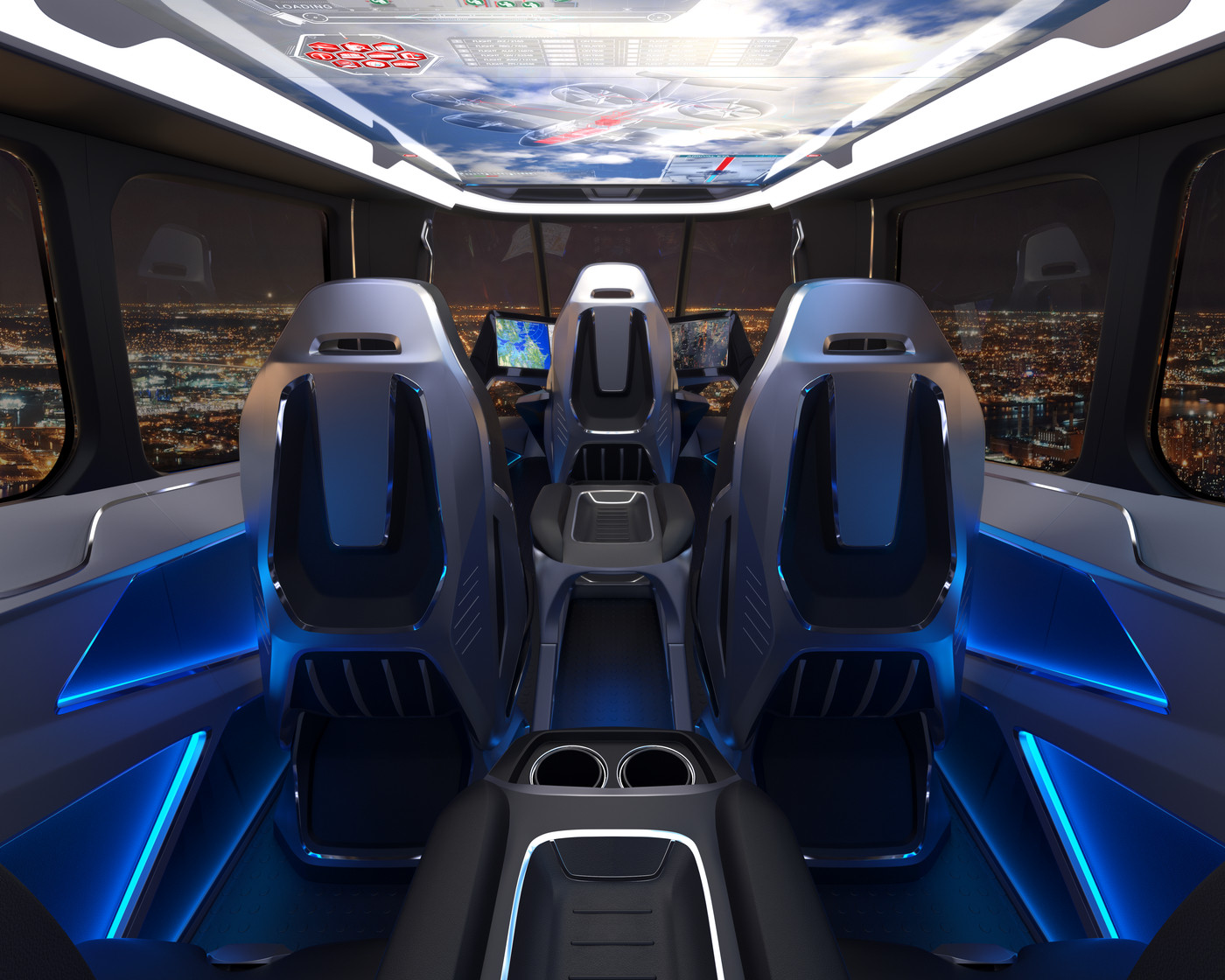 Bell's hybrid-electric flying car will be available via Uber