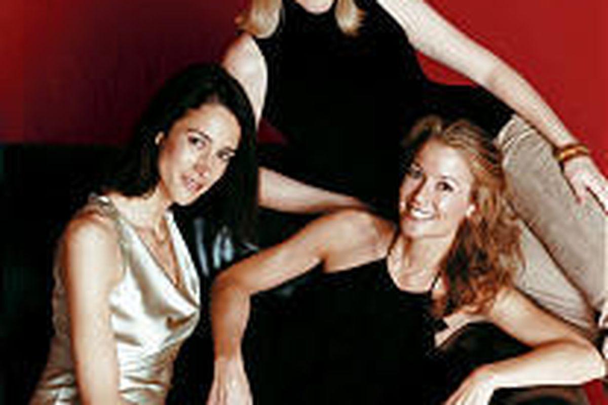 Adela Pena, Erika Nickrenz and Isabelle Sant'Ambrogio of Eroica Trio.
