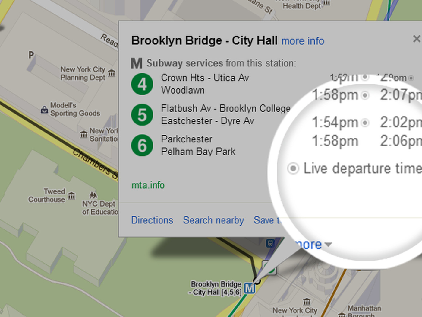 Google brings real-time NYC subway schedule data to Google Maps ...