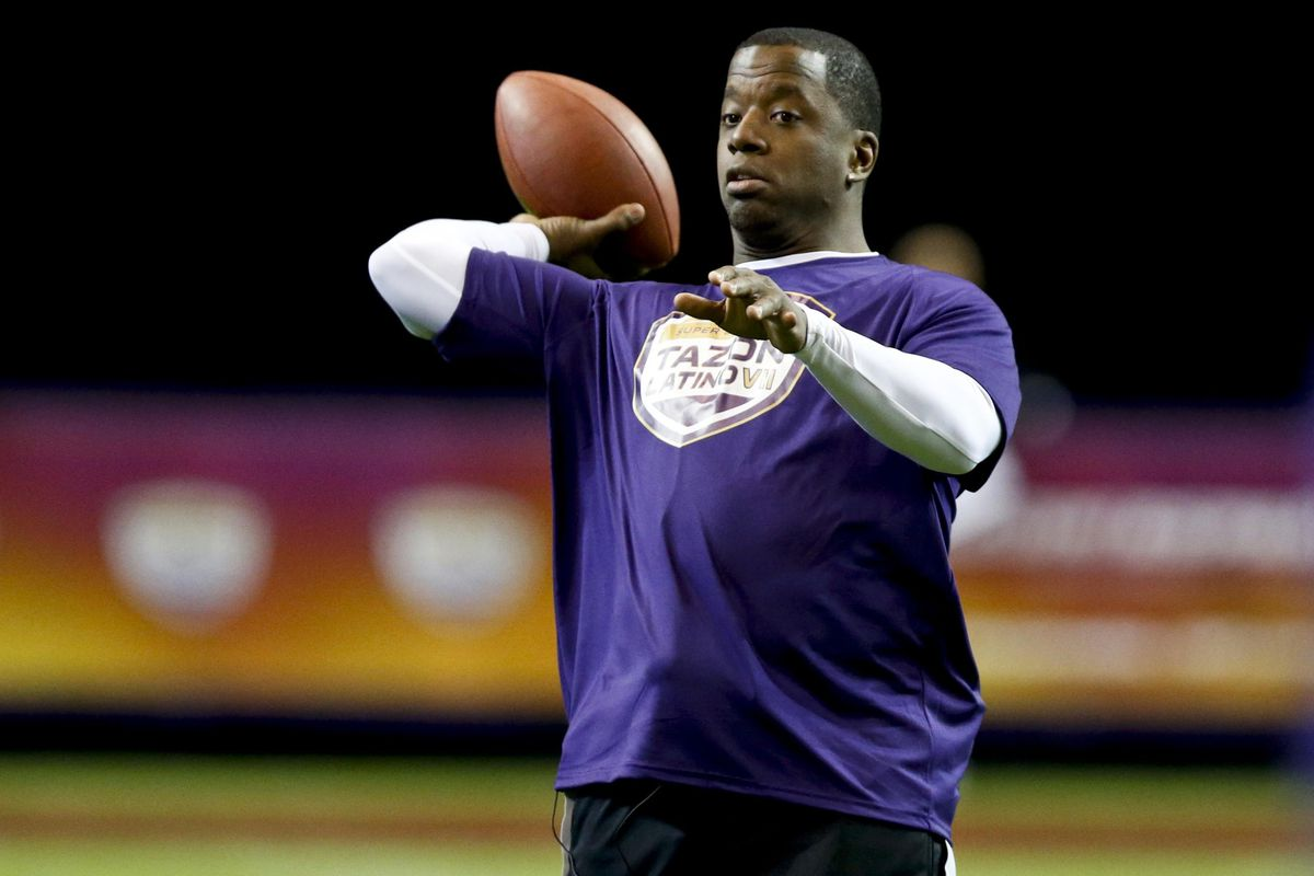 Kordell Stewart at a pre-Super Bowl event this year