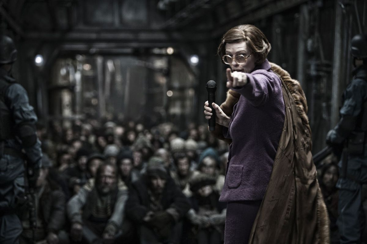 Sci-fi movie Snowpiercer is one of the most political films