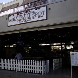 The entrance to Meatball Spot.