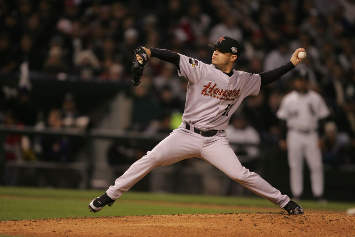 MLB World Series 05: Astros at White Sox - Game 1