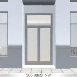 Minibar entrance.