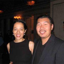Yvonne-Cadiz Kim and Bill Kim