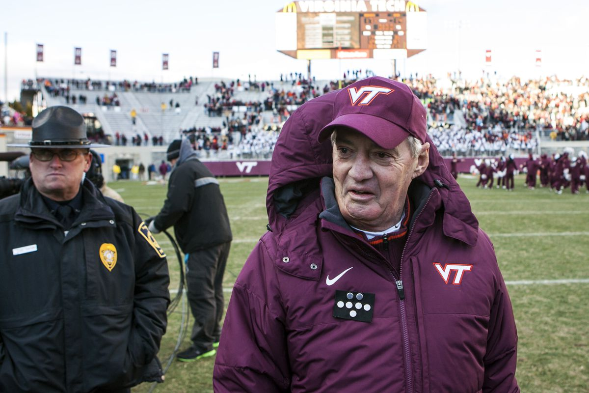 Frank Beamer is on the verge of his first losing season since 1992