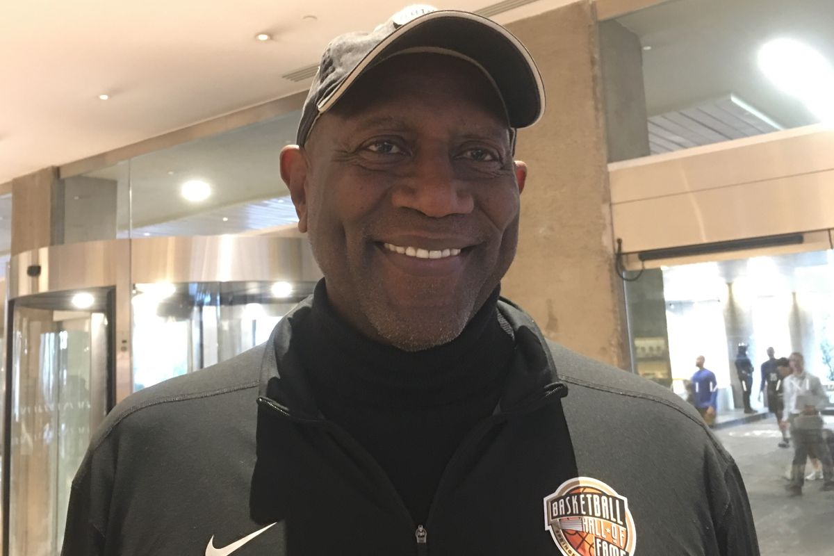NBA Hall of Famer Spencer Haywood played in 34 games for the New Orleans Jazz during the 1978-79 season. The Jazz acquired him from the New York Knicks midway through the year for Joe Meriweather. He was invited by the league as one of the legends to atte