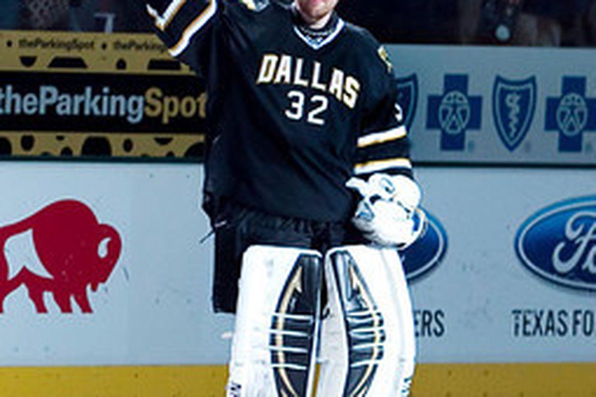 "via <a href=""http://www.myhockeyshots.com/DallasStars2011-2012Season/Games/021612-Stars-vs-Flames/i-vsdB82S/0/M/1433-kari-2nd-star-M.jpg"">www.myhockeyshots.com</a>"